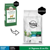 NUTRO Adult 30 kg+ agneau, riz pour chien