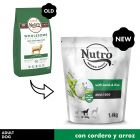 Nutro Core Adult cordero y arroz para perros medianos
