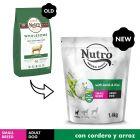 Nutro Core Adult Small cordero y arroz para perros pequeños