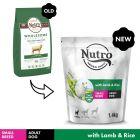 Nutro Dog Adult <10kg - Lamb & Rice