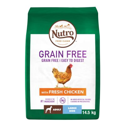 Nutro Dog Grain-Free Adult Large Breed - Chicken
