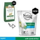 Nutro Dog Puppy 10-30kg - Lamb & Rice