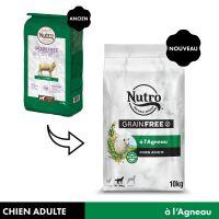 Nutro Grain Free Adult agneau pour chien