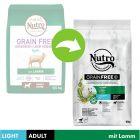 Nutro Grain Free Adult Hund Light Lamm