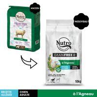 Nutro Grain Free Adult Light agneau pour chien