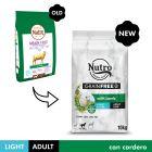 Nutro Grain Free Adult Light Cordero para perros