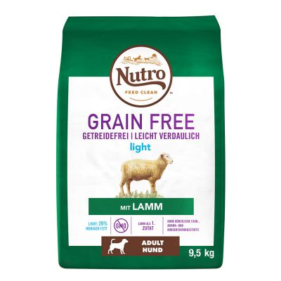 Nutro Grain Free Adult Light Lamb