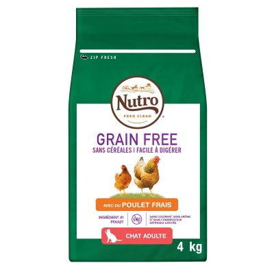 Nutro Grain Free Adult poulet pour chat