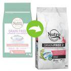 Nutro Grain Free Adult salmão e peixe branco para gatos
