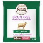 Nutro Grain Free Adult Small cordeiro para cães
