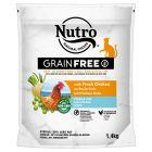 Nutro Grain Free Adult Sterilized Cat csirke