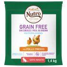 Nutro Grain Free Adult Sterilized Frango para gatos