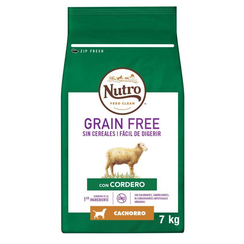 Nutro Grain Free Junior Cordero para perros