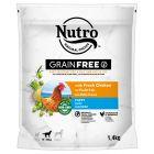Nutro Grain Free Junior Hond Kip