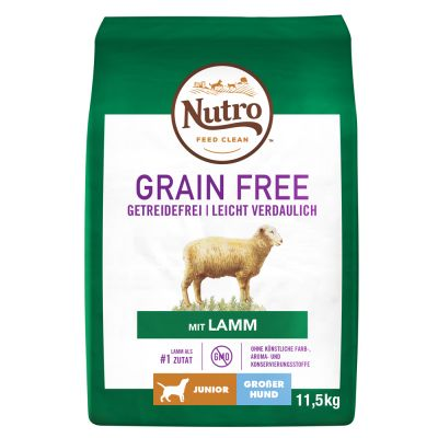 Nutro Grain Free Junior Large Breed Lamb
