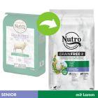 Nutro Grain Free Senior agneau pour chien