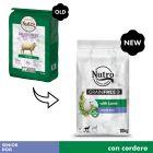 Nutro Grain Free Senior cordeiro para cães