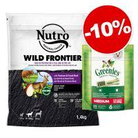 Nutro 1,4 kg + 6 friandises Greenies Medium : 10 % de remise !