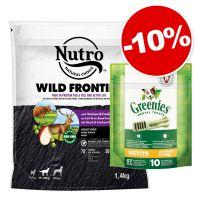 Nutro 1,4 kg + 10 friandises Greenies Petite : 10 % de remise !