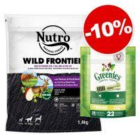 Nutro 1,4 kg + 22 friandises Greenies Teenie : 10 % de remise !