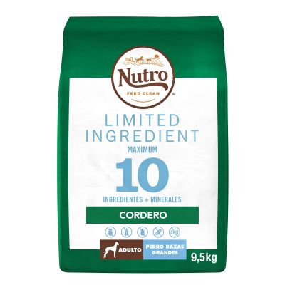 Nutro Limited Ingredient Adult Large Cordero para perros