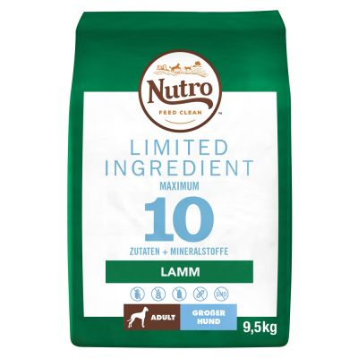 Nutro Limited Ingredient Adult Large Lam Hondenvoer
