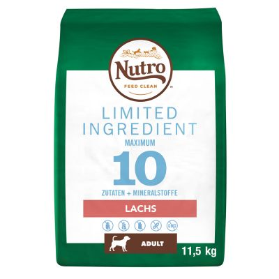 Nutro Limited Ingredient Adult Zalm Hondenvoer