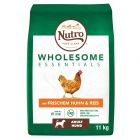 Nutro Wholesome Essentials Adult Hond Kip & Rijst Hondenvoer
