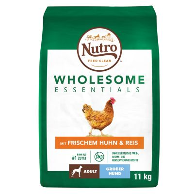 Nutro Wholesome Essentials Adult Large Kip & Rijst Hondenvoer