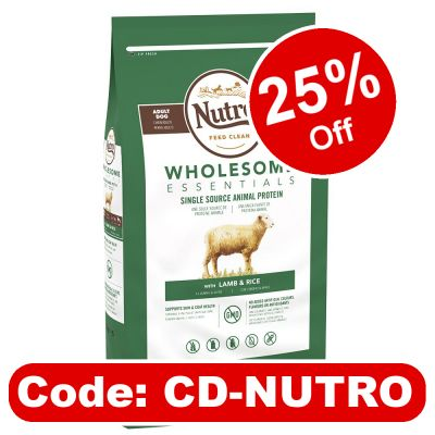 Nutro Wholesome Essentials Large Breed Adult - Lamb & Rice