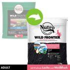 Nutro Wild Frontier Adult с лососем и голавлем