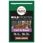 Nutro Wild Frontier Adult cerf, bœuf pour chien
