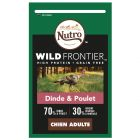 Nutro Wild Frontier Adult dinde, poulet pour chien