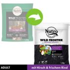 Nutro Wild Frontier Adult Dog Cerb & Vită