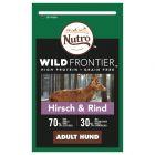 Nutro Wild Frontier Adult Dog jelen & hovězí