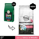Nutro Wild Frontier Adult Dry Cat Food - Salmon & Whitefish
