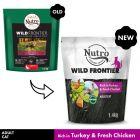 Nutro Wild Frontier Adult Dry Cat Food - Turkey & Chicken