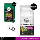 Nutro Wild Frontier Adult Dry Dog Food - Turkey & Chicken