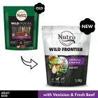 Nutro Wild Frontier Adult Dry Dog Food - Venison & Beef