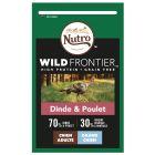 Nutro Wild Frontier Adult Large dinde, poulet pour chien