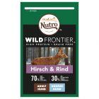 Nutro Wild Frontier Adult Large Hert & Rund Hondenvoer