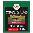 Nutro Wild Frontier Adult Pavo y pollo para gatos
