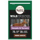 Nutro Wild Frontier Adult Venado y ternera para perros