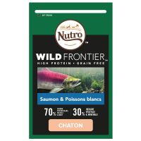 Nutro Wild Frontier Junior saumon, poisson blanc pour chaton