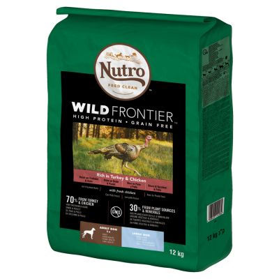 Nutro Wild Frontier Large Adult Dry Dog Food - Turkey & Chicken