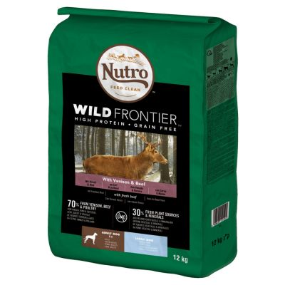 Nutro Wild Frontier Large Adult Dry Dog Food - Venison & Beef