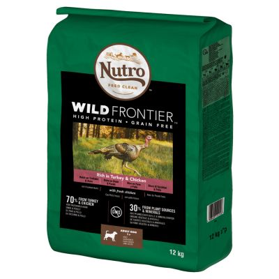 Nutro Wild Frontier Medium Adult Dry Dog Food - Turkey & Chicken