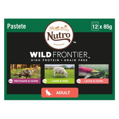 Nutro Wild Frontier Wet Cat Food Mixed Pack