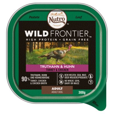Nutro Wild Frontier Wet Dog Food Tray Mixed Pack