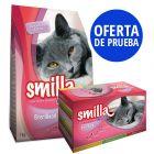 Oferta de prueba Smilla Sterilised 1 kg pienso + 12x sobres
